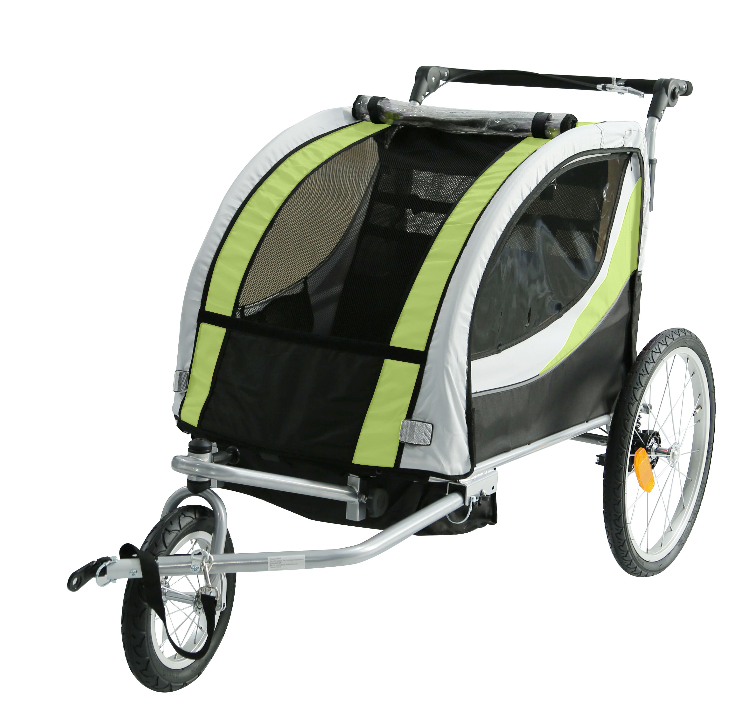 Adjustable Travel Wholesale High Quality Baby Pram Stroller Twins Bicycle Trailer for kids