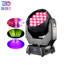 wholesale led stage light 19pieces 15w rgbw 4in1 led moving head professional show lighting full color zoom function