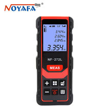 NF-272L Multifunction Laser Distance Meter Rangefinder Electronic Ruler Infrared Measuring Instrument
