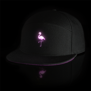 ACE Custom Logo Novelty Adjustable Caps Cool Led Message Sign Cap Snapback Caps Hiphop Hats With Led Lights