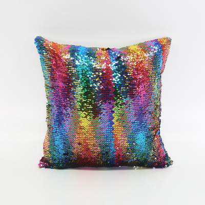 Wholesale Sublimation Heat Press Photo Sequin Pillow Cover Blanks