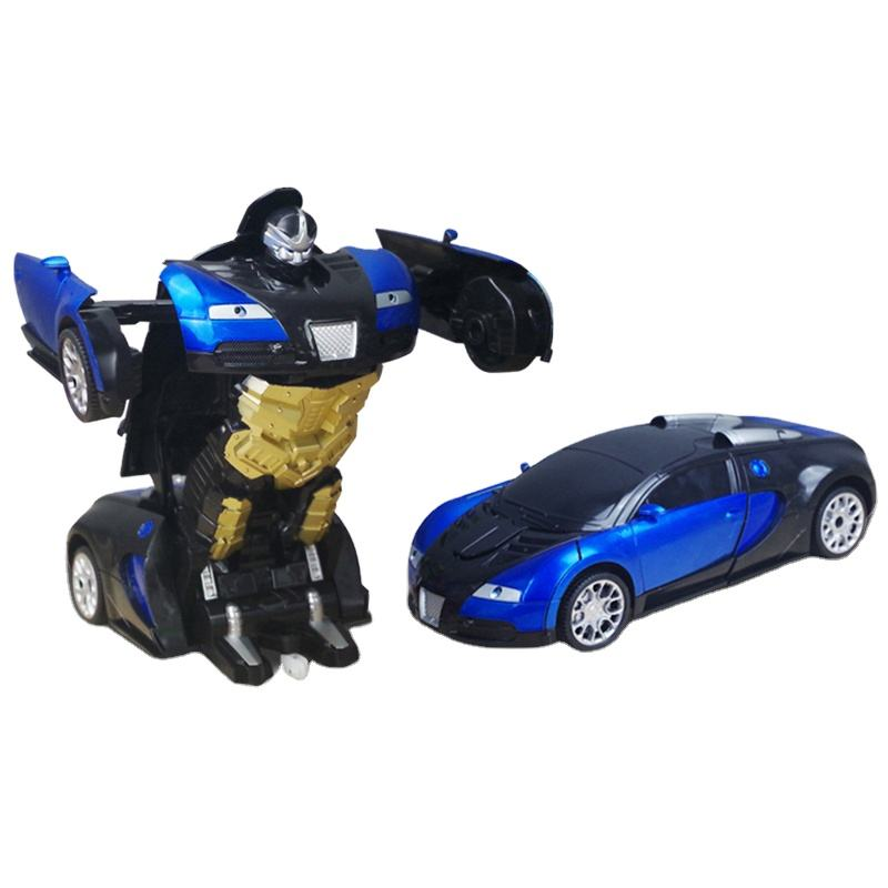 Groothandel kids intelligente 1:14 rc DIY auto transformeren <span class=keywords><strong>robot</strong></span> vervorming <span class=keywords><strong>speelgoed</strong></span>