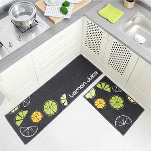 Wholesale Ready Made Fashion Simple Machine Washable Anti-slip Foot Rug Mat For Living Room Bedroom Kitchen