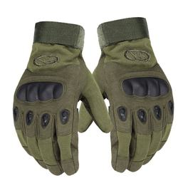 Prevent Slippery Wear Resisting Police Military Full Finger Tactical Gloves Motorcycle Sports Outdoor Camping Shooting Hiking