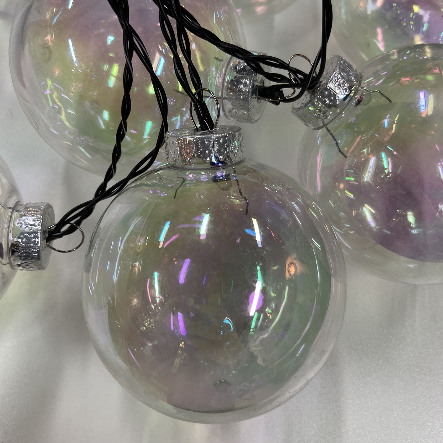 Tree Plastic Hanging Christmas Ball