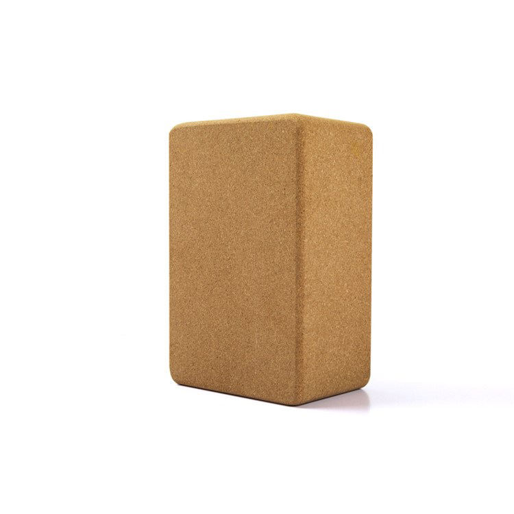 Recycle Pilates Brick 3x6x9 Inch Light Weight Yoga Block Cork Set