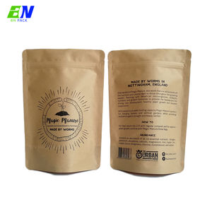 Factory Direct Selling Food Grade Ziplock Theezakje Stand Up Pouch Koffie Zak