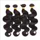 Cheap and hot sale human cheap hair / 8A Body / 1B# Natural color Body Wave