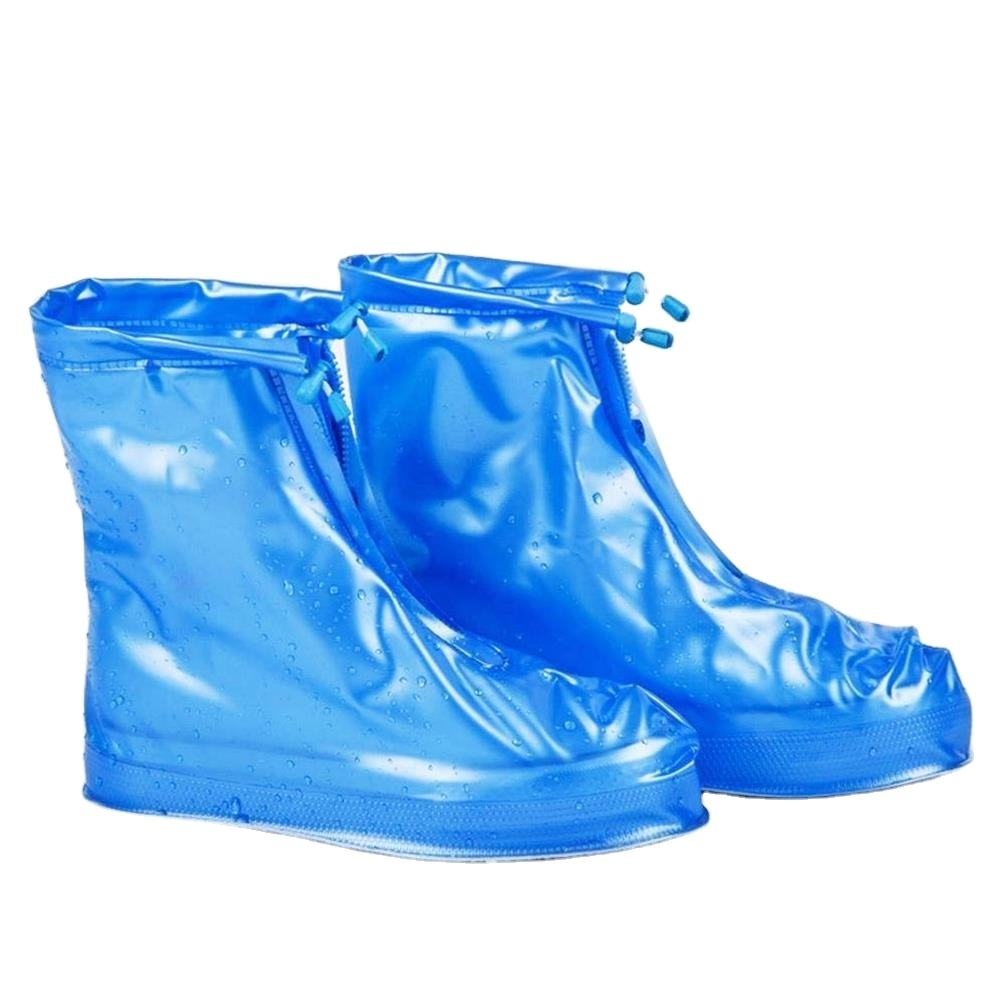 Great ThickenedとNon-Slip PVC Shoes Covers Cycling Shoe Covers、GaloshesためWomen Men Kids Rain Snow Boot Covers