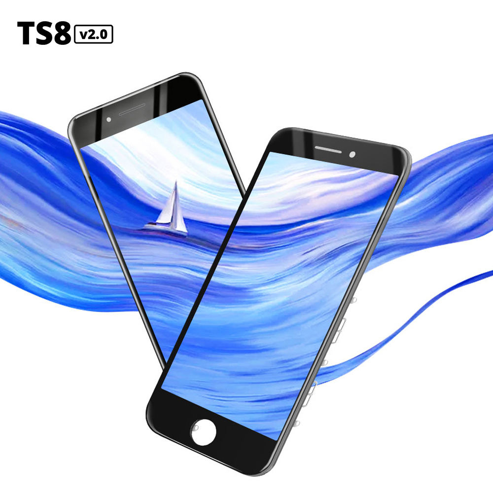 TS8 mobiles display LCD lifetime warranty touch screen digitizer assembly mobile phone display lcd for iphone6 6s 6plus 7 8 plus