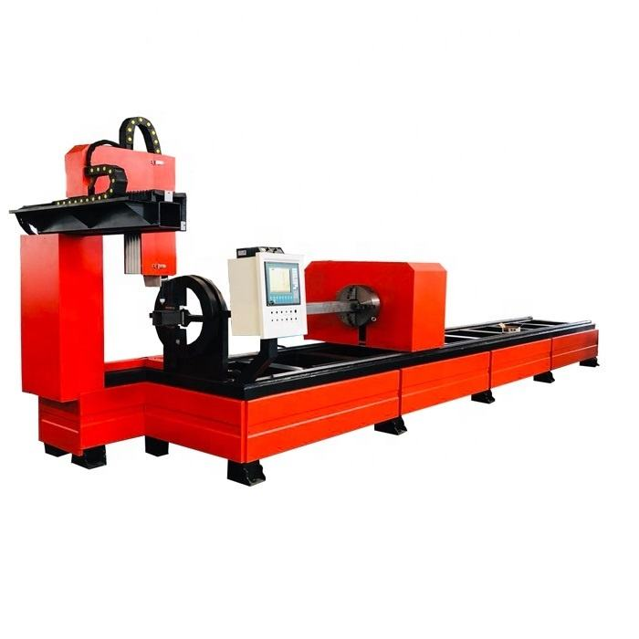 CA-3000 CNC plasma pipe and profile cutting Machine/H beam/ shape steel /square tube bevel cutter