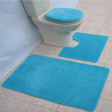 Solid living room carpet and  microfibre bath mat rugs set bathroomcarpet bath mat rug bath mat setcustom bathroom rugs