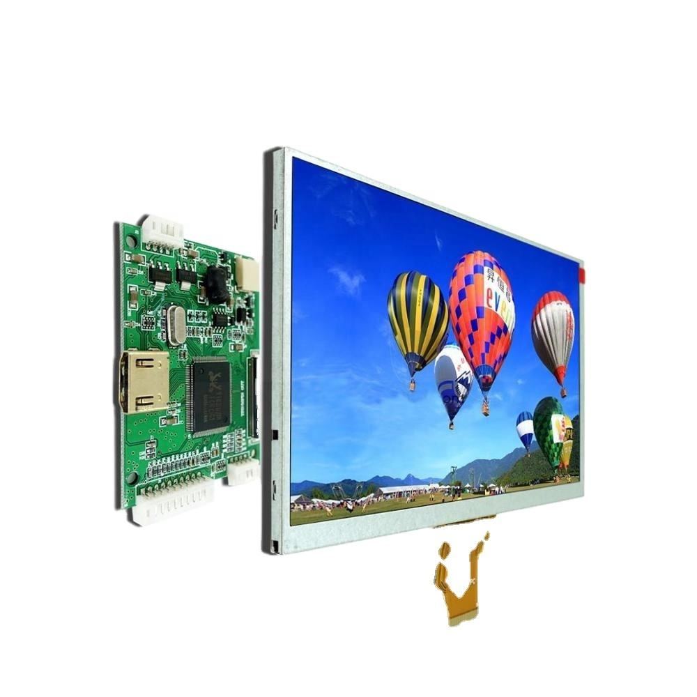 New type digital open frame VGA,Video input tft lcd panel 7 inch for car dvd player