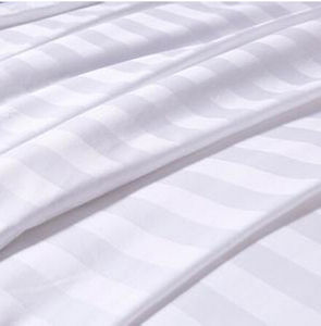 Factory wholesale cotton satin bedding fabric 100% combed cotton fabric roll