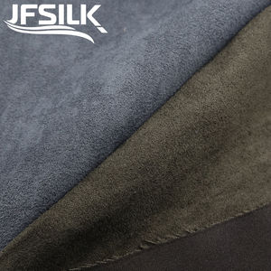 100% polyester suede feel fabrics micro sofa fabric textile single suede fabric microfiber for furniture furnishing upholstery