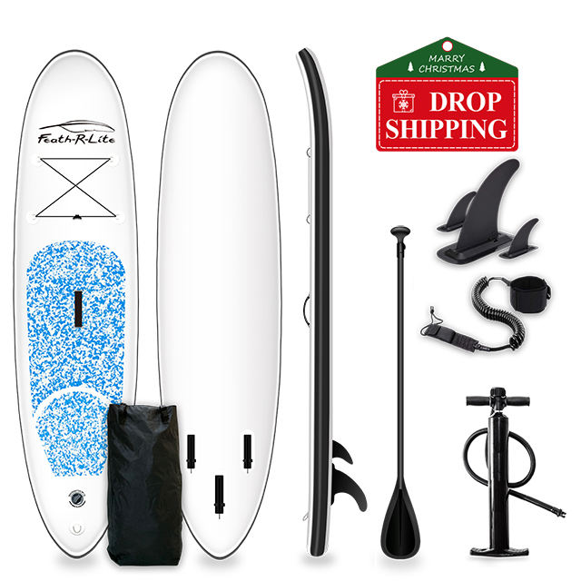 Factory Supply Wholesale 305x76x10cm Inflatable Stand Up Paddle Board(blue color)