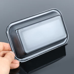Delivery microwave flight food heat box tray container for meal