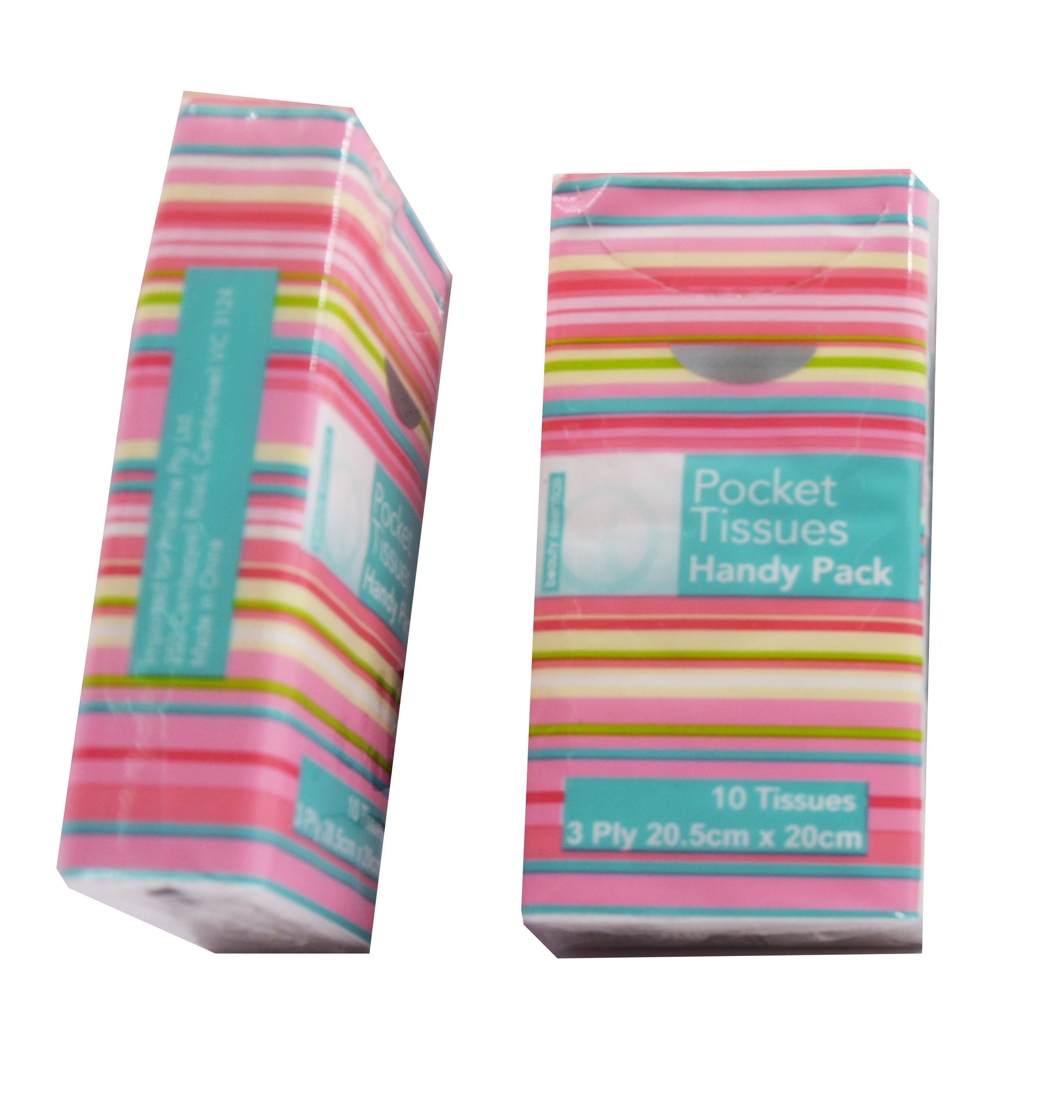 High Quality Pocket Pack Mini Custom Facial Tissue 2 Ply