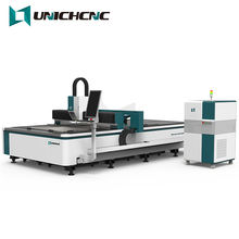 2020 UNICHCNC factory outlet 1000W Laser Cutting Machine CNC Fiber Laser Cutter Sheet Metal machine