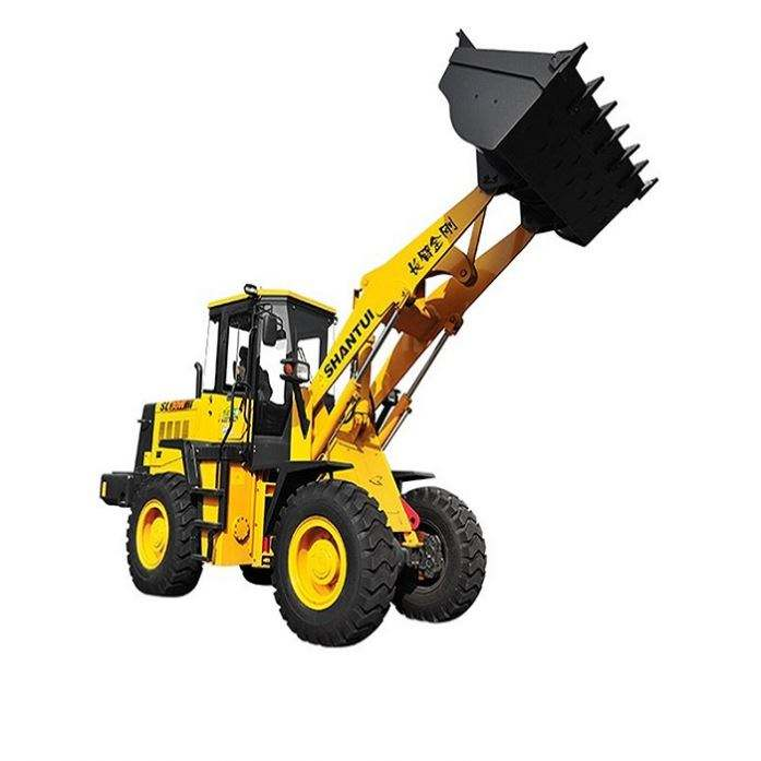 Direct selling Shantui L68-C3 6t 178kw new large frontal loade wheel loader with pallet fork price