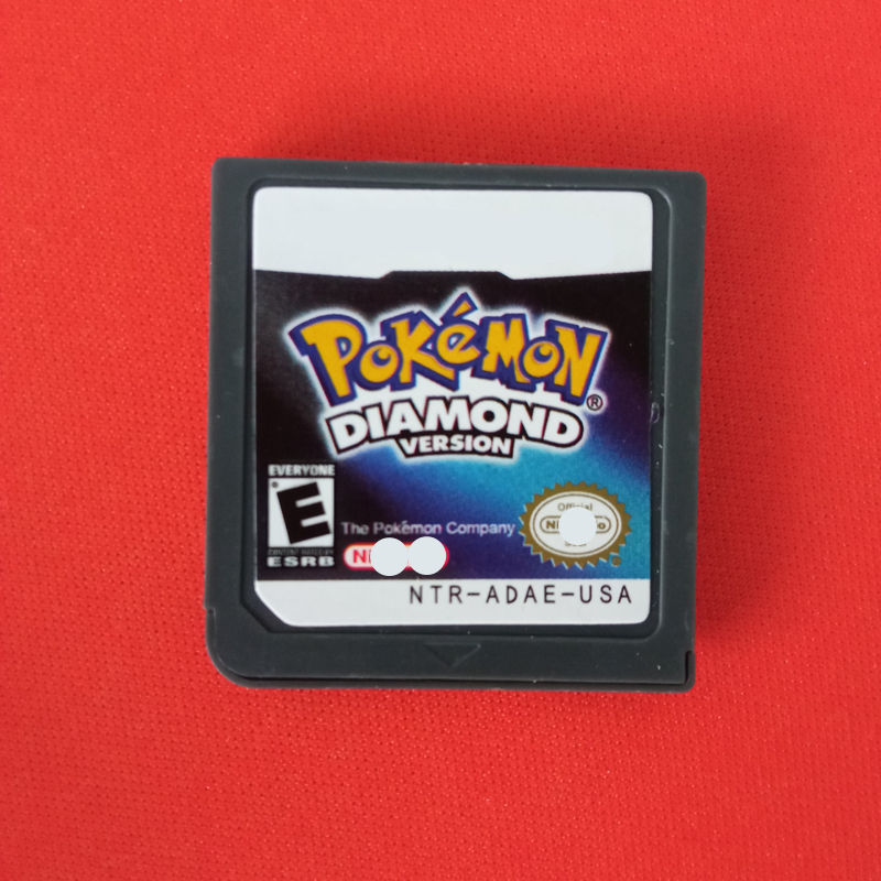 USA EUR Version Video Game Cartridge Card Pokemon Platinum Pearl Diamond for DS,NDS