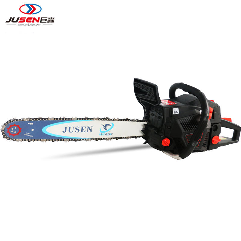 High quality 2 stroke professional garden tools 52cc gasoline chain saw