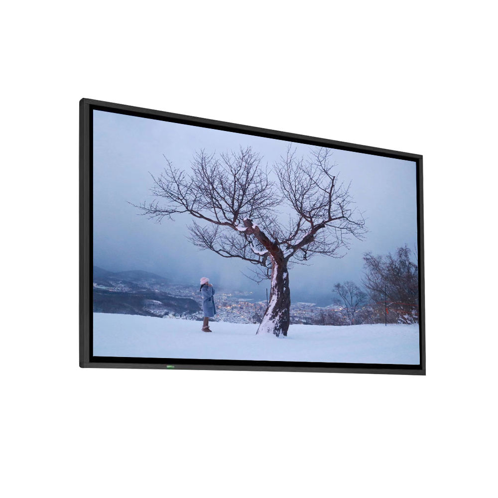 3000cd/m2 FHD Resolution 75'' Outdoor TV High Brightness LCD Screen 1920*1080