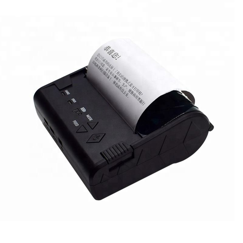 smallest 3inch mini bluetooth thermal printer cheap android ios handheld mobile receipt printer