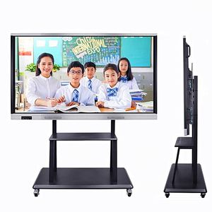 50 55 75 86 98 Inch Touch Screen 4k Smart Classroom iboard Interactive Whiteboard 82/Flat Panel 65 For Education Office Meeting