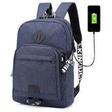 Multi-functional Waterproof Camera Digital school bag Backpack Laptop Bag with usb charger