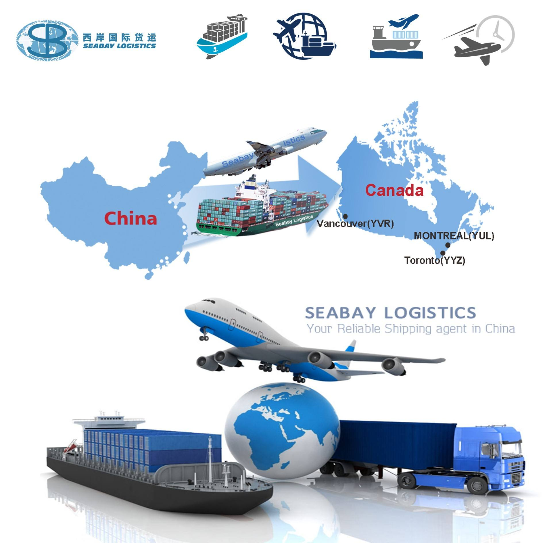 super logistics service from fuzhou to montreal