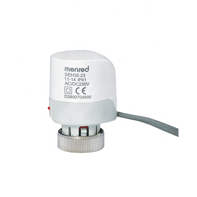 Menred SEH35.23 230V normally closed M30*1.5mm Electro Thermal Actuator For Underfloor Heating