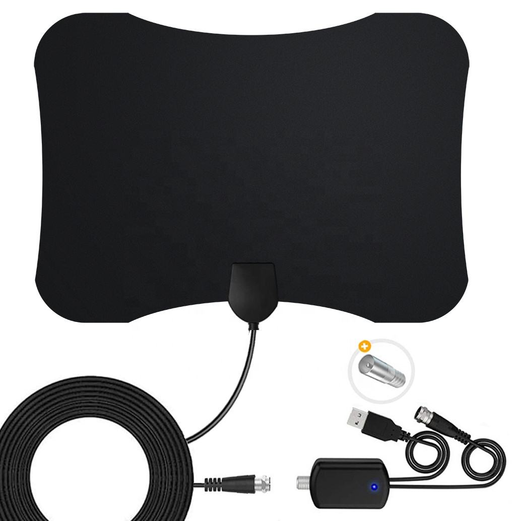 2020 New Style Cheapest Price HDTV Antenna Range Indoor TV Antenna With Amplifier