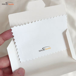 Chemicals Treated Paper Envelope Anti Tarnish Jewelry Cloth,
