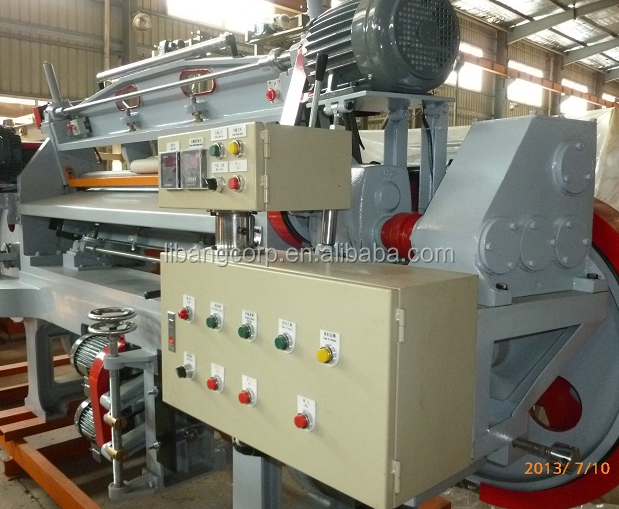 Automatische PE skiving machine/EVA foam splitting machine