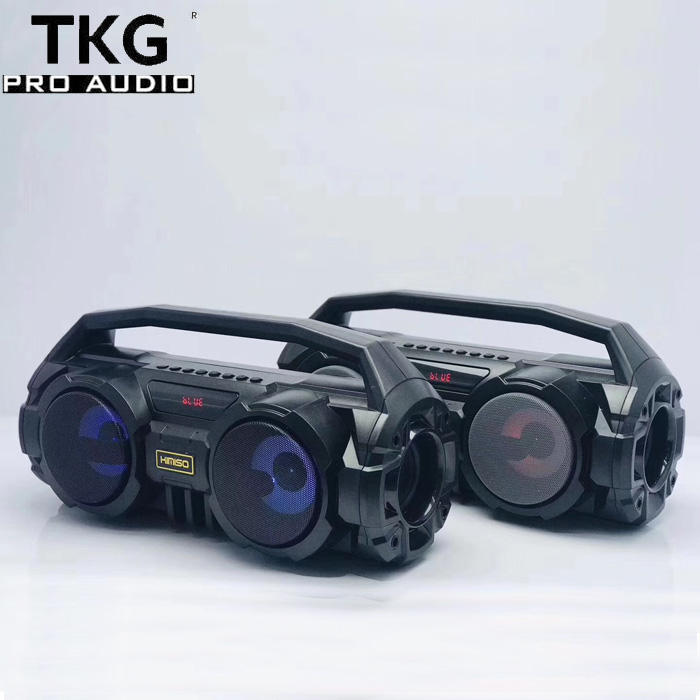 TKG FM radio TF card USB KM-S1 fm mp3 bluetooth speaker best bass mini