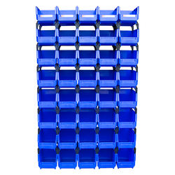 Recyclable durable Plastic spare parts Storage Bins/box for factory warehouse storage