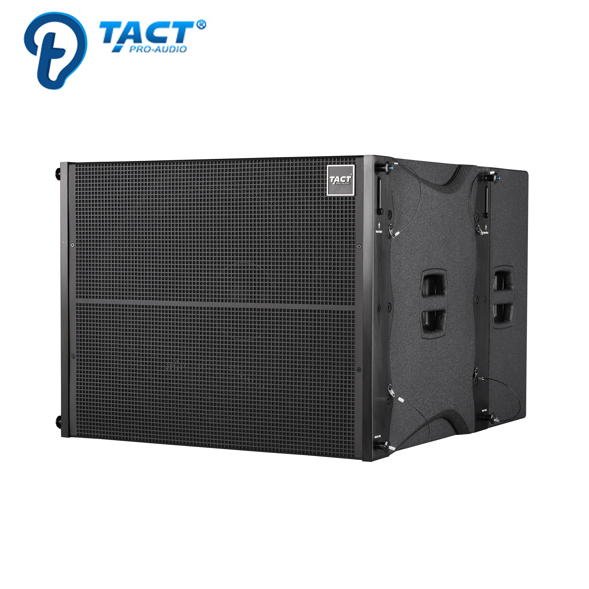 Professional double 10 inch line array sound system speaker for concert stage speaker