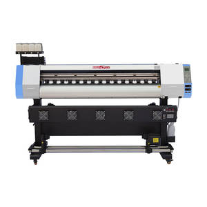 Kingjet 1.6 M 1.8 M 3.2 M Dx5 Xp600 Printkop Plotter Vinyl Flex Banner Eco Solvent Printer