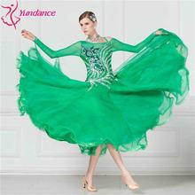 B-17257 Adult women's new ballroom dance dress waltz tango dance costumes for competition