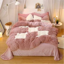 Plush Fluffy Shaggy Luxury Bedding Ultra Soft Duvet Cover Se