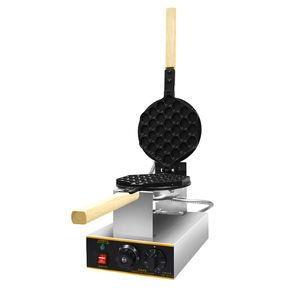 7.8'' Electric Time and Temperature control breakfast maker Hong Kong style Egg Waffle Rotating Machine