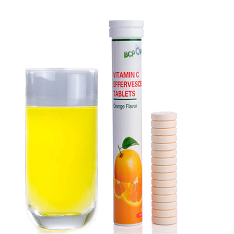 Effervescent vitamin c,health products oem