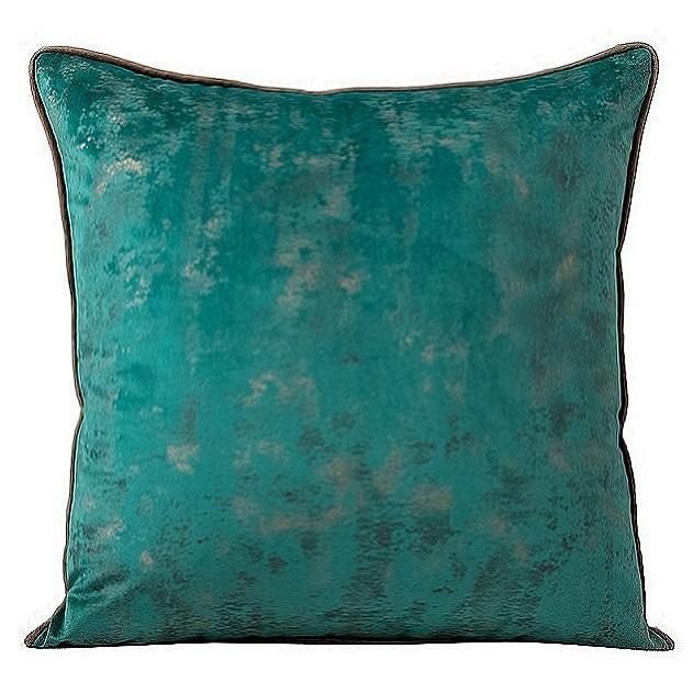 2021 Coastal noble style decorative pillow cushion covers in dark green
