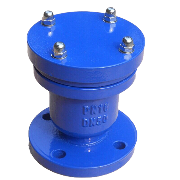 PN10/16 Adjustable Air Relief Valve Single Flange Type CE Certification