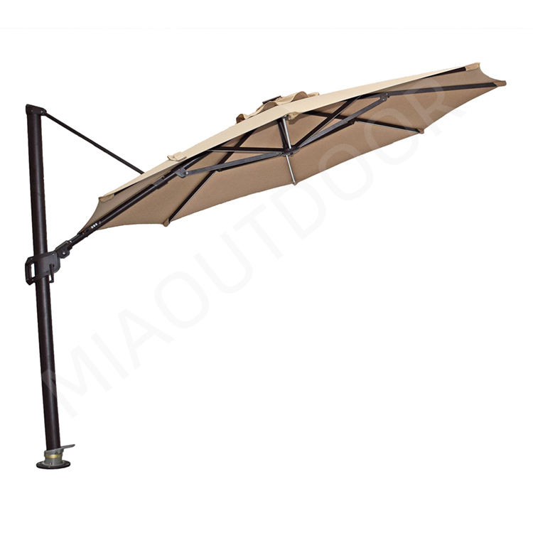 big patio parasol cantilever patio umbrella parts