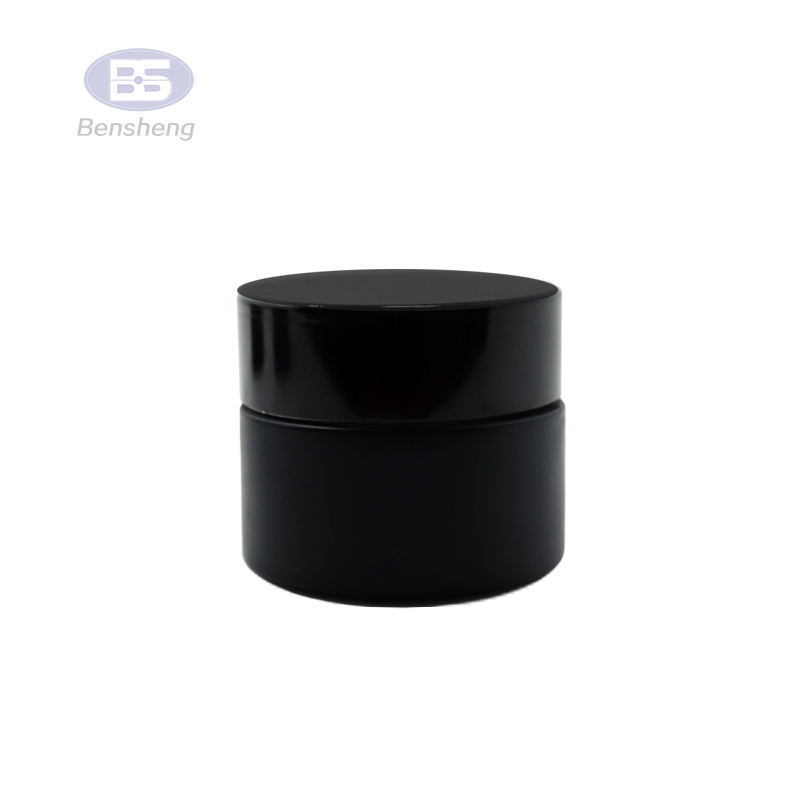 100ml big empty black essential oil glass bottle cosmetic jar for perfume for liquor
