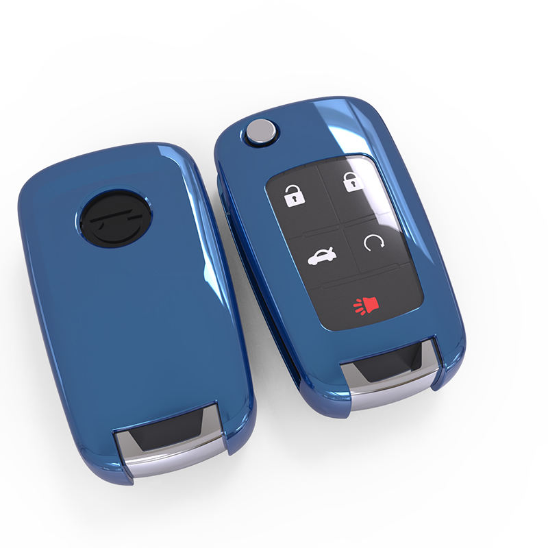 car remote key chevrolet case 1-2-3 of tpu car key cover for soft car key covers