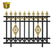 Philippine style decorative easily assembled durable aluminum house fence antique garden fence