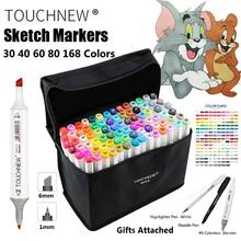 30 color new touch five alcohol base acrylic paint washable Permanent Marker Pen set